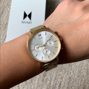 Gold MVMT Watch